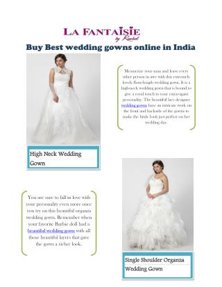 La fantaisie Bridal Gown Collection India