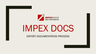 ImpexDocs Makes Exports Easy