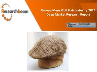 Europe Mens Golf Hats Industry 2016
