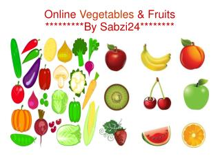 Online Vegetables And Fruits By Sabzi24