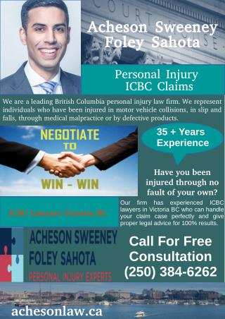 How to Hire ICBC Lawyers in Victoria, British Columbia