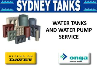 Best Onga, Davey Pressure Pumps Services  - Australia