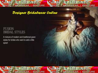 Designer Bridal Wear Online