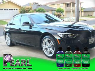 Pearl Nano Coatings contains both hydrophobic and hydrophilic properties.