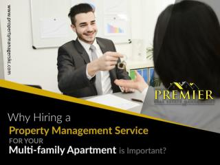 Benefits of Hiring Property Management for Multi-family Properties
