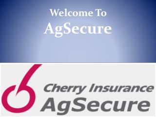 Cherry AgSecure Insurance