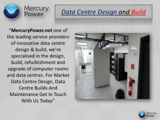 Data Centre Power Management