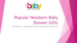 Popular Newborn Baby Shower Gifts