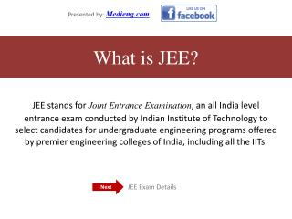 Important Details of Joint Entrance Exam