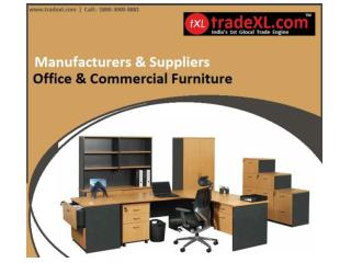 Office Furniture Manufacturers, Suppliers & Exporters India | TradeXL