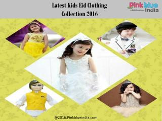 Exclusive Eid Party Wear Children Dresses 2016