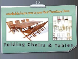 1stackablechairs.com is your Best Furniture Store