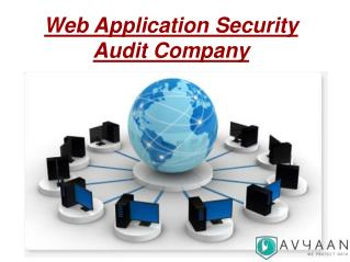 Avyaan- Web Application Security Audit Company in India