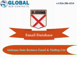 Alabama (AL) State Business Email & Mailing List