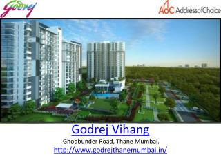 Godrej Properties  New Project Launch Godrej Vihang in Mumbai