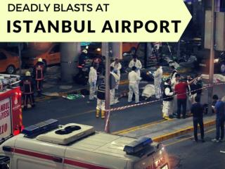 Deadly blasts at Istanbul airport