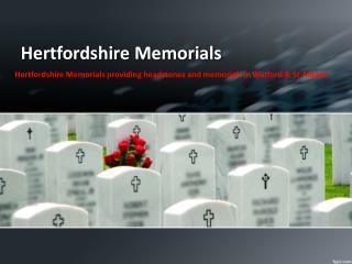 Cremation Memorials North London