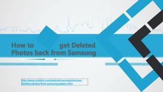 How to get deleted photos back from samsung