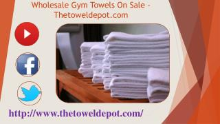 Wholesale Gym Towels On Sale