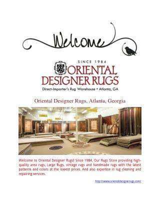 Rug Cleaning & Restoration Service | OrientalDesignerRugs.com