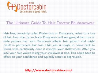The Ultimate Guide To Hair Doctor Bhubaneswar