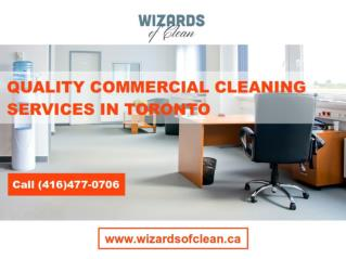 Toronto Commercial Cleaning & Janitorial Services
