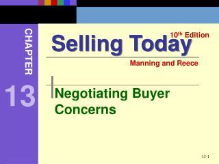 Negotiating Buyer Concerns