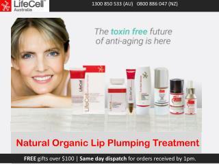 Natural Organic Lip Plumping Treatment