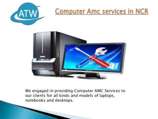 Computer Amc services in NCR