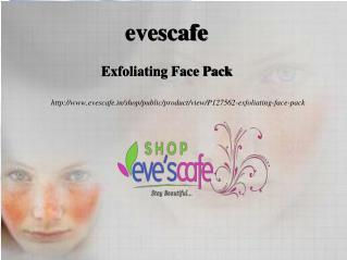 Buy Evescafe Exfoliating Face Pack