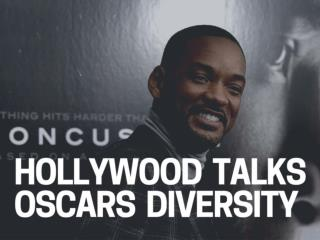 Hollywood talks Oscars diversity