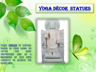 Yoga Décor Statues