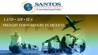 Freight Forwarders In Mexico