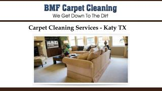 Carpet Cleaning Services - Katy TX