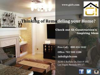 GI Construction - Home Remodeling and Renovation Las Vegas