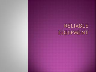 Ralible Equipment