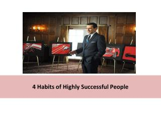 4 habits of highly successful people - Mindhedge