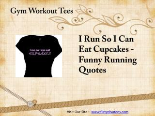 Gym Work Out Shirts