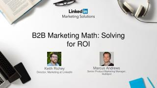 B2B Marketing Math: Solving for ROI