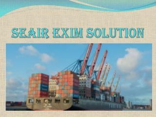 Seair Exim Solution : Import Export Trade Service Providers