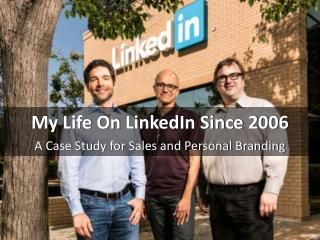 Chris Spurvey, Vice President - KPMG shares his LinkedIn success story