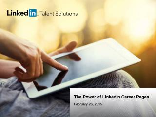 Success with LinkedIn Career Page