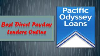Best Direct Payday Lenders Online