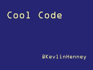 Cool Code