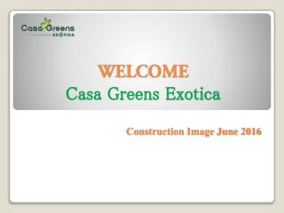 Live exotic life with Casa Greens Exotica