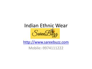 Indian Ethnic Wear - Buy Saree and Suit Online