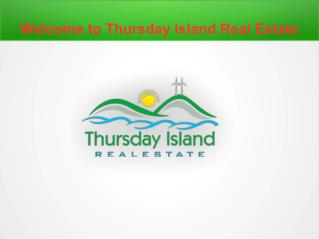 Thursday Island Real Estate