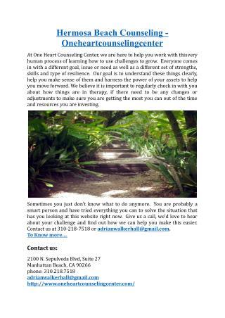 Hermosa Beach Counseling - .oneheartcounselingcenter