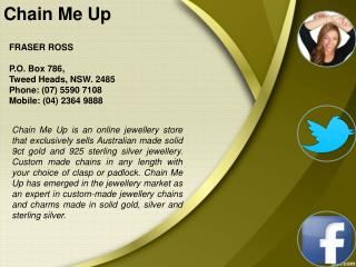 Buy Silver Chains in Australia