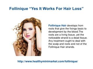 Follinique Get Back Long Thick Hair